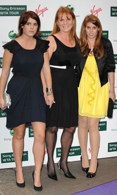 Sarah held daughter Princess Eugenie's hand while out at the 2009 Ralph Lauren/Sony Ericsson WTA Tour pre-Wimbledon Party at the Kensington Roof Gardens in London.   Photo: PA