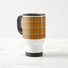 #trendy - #ethnic african striped tribal pattern. travel mug