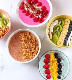 smoothie bowls / amelie.barbeau