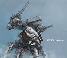 Flak Mech by ProgV.deviantart.com