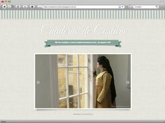 El diseño de Cuaderno de Costura | My blog template design