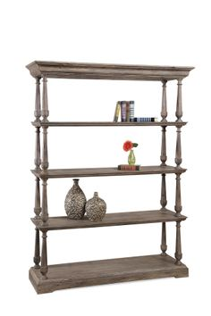 Bett Mirror Pemberton Etagere Bookcase Wayfair Wood Shelves 5 Shelf