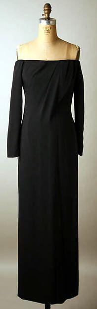 Yves Saint Laurent, Paris 1980 | Evening dress | French | The Met