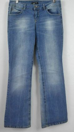 26adc86798b lei Ashley Lowrise Boot Jeans Sz 11 Jrs Med Distressed Fade Stretch Denim  EUC  lei  BootCut  lowrise  denim  jeans  leiAshley  shearsbranchcoopery