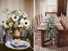 Copper Brown and Sage Green - 12 Perfect Combinations for Color Schemes for Fall Weddings - EverAfterGuide