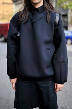 JUUN J NEOPRENE SWEATER