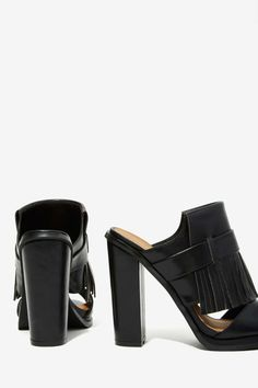Can't Get Enough Fringe Mule