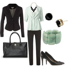 """""""work wear"""" by lulums on Polyvore"""