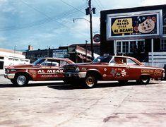 Vintage Drag Racing - Phil Bonner's Fords
