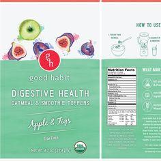 Create an eye catching label oatmeal