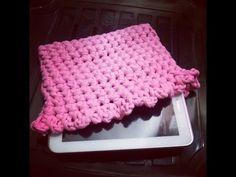 Funda para portatil o tablet fácil a crochet - Trapillo - YouTube