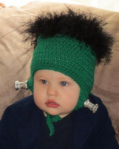 So sweet! We think this cutie makes a great baby Frankenstein, but we need your…
