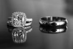 His and hers wedding ring photo i love this ring!!