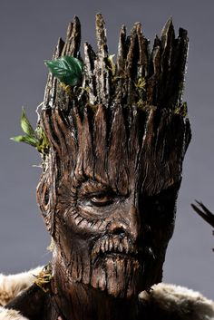 The Best Makeup Effects from Six Seasons of Face Off  Season four, Eric Z and Autumn. The detail here blows my mind. This looks in every way like a being made of wood.