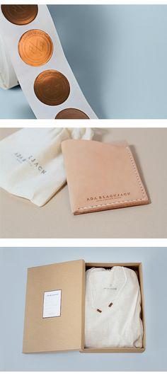 Art Direction & Brand Identity by Verena Michelitsch & Tobias Schneider.Ada Blackjack are handcrafted bags, made in Barcelona by Ivonne…