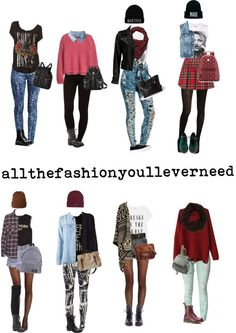 Grunge School Outfit Ideas Go to allthefashionyoulleverneed.tumblr.com for more.