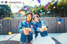 @stseaphoto さんに前撮りの写真をアップして頂きましたドキドキしながらコンフェッティクラッカーを鳴らしました♪キラキラでとっても綺麗素敵に撮れてます #プレ花嫁#結婚式#結婚式準備#ウエディング#ブライダル#前撮り#エンゲージ#エンゲージメントフォト#クラッカー#コンフェッティ#コンフェッティクラッカー#熊本花嫁#第3期ジュニアアンバサダー#ウエディングソムリエアンバサダー#2016wedding#2016swd#2016春挙式#日本中のプレ花嫁さんと繋がりたい