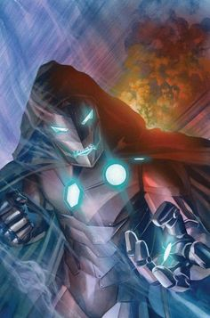 Victor Von Doom in his Iron Man persona as seen in Infamous Iron Man Marvel Villains, Marvel Comics Art, Marvel Comic Books, A Comics, Marvel Characters, Comic Books Art, Comic Art, Book Art, Thor Marvel