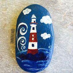 #denizfeneri #taşboyama #taşsanatı #paintingrocks #paintingstone #stoneart #handmade #elyapımı #hediyelik #hediye #özelgün #gift #idea #izmir #picoftheday #instagood #instagram #instagramturkey #instalike #instadaily #handmadewithlove #mavi #mavibeyaz #maviaşkı #akrilikboya #hobi #özelgünhediyeleri #elyapımıürünler