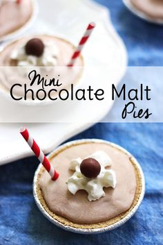 If you enjoy the traditional soda shop treat, you will love this chocolate dessert recipe! Chocolate Malt Pie.