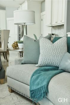Gatehouse Shades of Blue Living Room