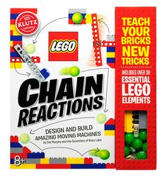 Amazon.com: Klutz LEGO Chain Reactions Craft Kit: Pat Murphy and the Scientists of Klutz Labs: Toys & Games
