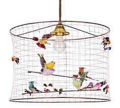 dressing wire birdcage | Remember the Birdcage Chandelier we featured previously? We just found ...