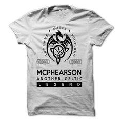I Love MCPHEARSON T shirts