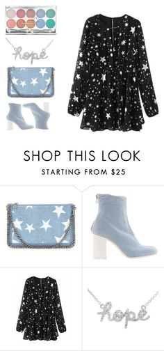 """Raising Stars"" by girl-pictured on Polyvore featuring STELLA McCARTNEY, MARIOS and Sydney Evan"