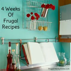 Looking for some easy frugal recipe to cut your grocery spending this year? Here's some great frugal recipes from breakfast to snacks.