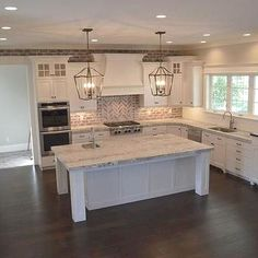 Kitchen Cabinets - CLICK THE PICTURE for Many Kitchen Ideas. #cabinets #kitchenisland