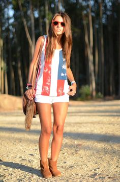 I seriously want an American Flag shirt