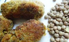 Lentil and Sweet Potato Nuggets