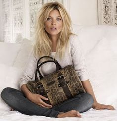 LONGCHAMP Fall 2011 Ad Campaign featuring Kate Moss - Kate Moss Longchamp Bag - Zimbio