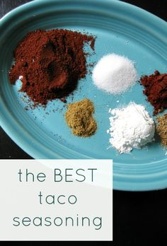 The best taco seasoning! Never using the little packets again.
