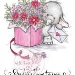 Image result for Wild Rose Studio Stamp Bella with Flowers