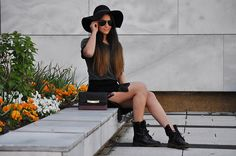 Forever21 Skirt, Zara Bag