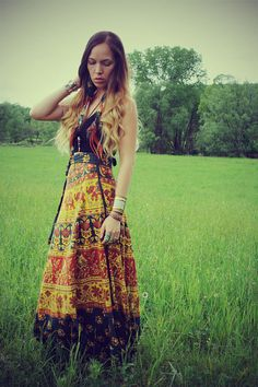 Handmade Fall Wrap Skirt Fabric Choices  Hippie by Cloud9Jewels, $35.00