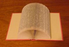Picture of Folded Book Art