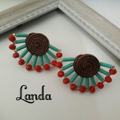 Fabric Jewelry, Jewellery, Bracelets, House, Ideas, Fashion, Stud Earrings, Moda, Jewels