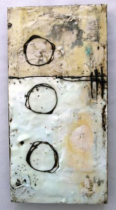 Encaustic4- Donna Downey - love encaustic texture....