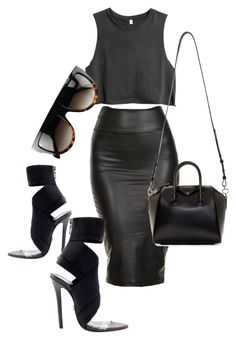 """""""Untitled #281"""" by rhiannonkennedy ❤ liked on Polyvore featuring H&M, CÉLINE and Givenchy"""