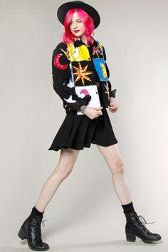 Vintage 80s Sequin Suns Moons Jacket #sequin #thriftedandmodern #80s #vintage