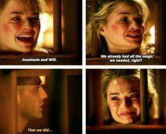 Will and Ana....Sob. #OnceWonderland