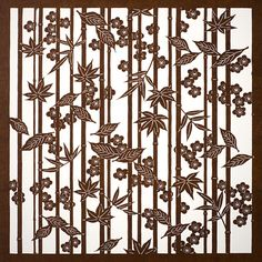 伊勢型紙の老舗メーカー オコシ型紙商店 | OKOSHI-KATAGAMI Chinese Patterns, Japanese Patterns, Japanese Design, Japanese Art, Stencil Patterns, Textile Patterns, Paper Lace, A Level Art, Free Motion Quilting