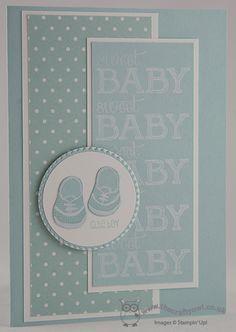 Monochrome Baby Boy Card - Baby We've Grown