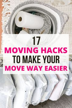 These moving hacks are SO good! I am definitely using them in my upcoming move and I know they are going to make my life 100x easier. Thanks, Sophia!