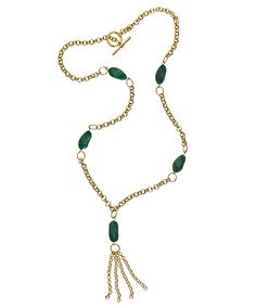 Max & Chloe Kati Ko Aventurine Fifth Element Necklace - can you tell I found a new favorite jewelry website?  :-)