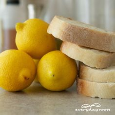 How to Use Bread & Lemon to Remove Calluses and Corns- this really works!