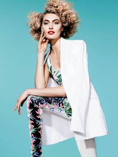 Luana Teifke by Nicole Heiniger for Harper's Bazaar Brazil September 2013
